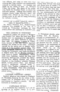 Article from the Western People 06 / 05 / 1916