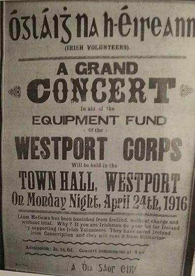 Westport and the Irish Volunteers
